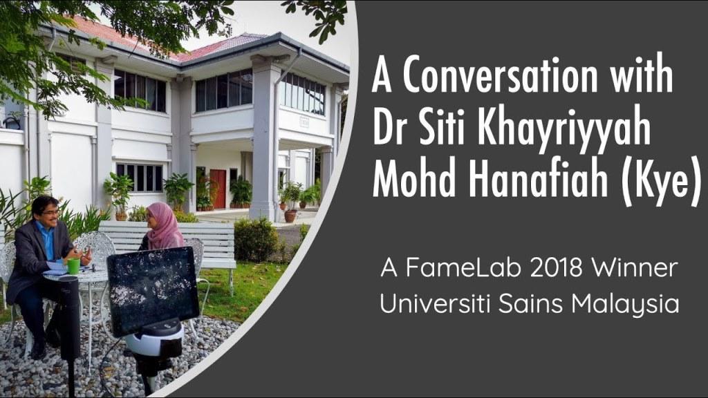 A Conversation with Dr Siti Khayriyyah Mohd Hanafi